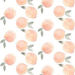 peaches fall