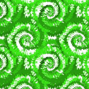 tie dye fabric -tie dye, hippie, hippy, trippy, trendy, dye, tie dyed fabric, tie dye swirl - neon green