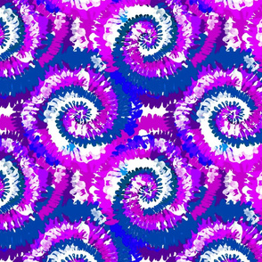 tie dye fabric -tie dye, hippie, hippy, trippy, trendy, dye, tie dyed fabric, tie dye swirl - purple and blue