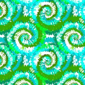 tie dye fabric -tie dye, hippie, hippy, trippy, trendy, dye, tie dyed fabric, tie dye swirl - alien green