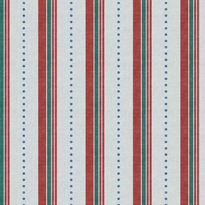 Winter Candy Cane Stripes