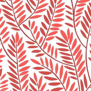 SERPENTINE LEAVES jumbo red