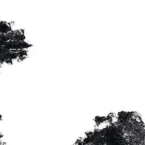 Seamless pattern black palms_1