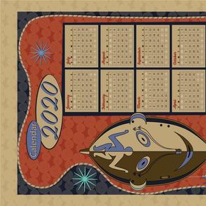 2020 Calendar: Mask Tea Towel
