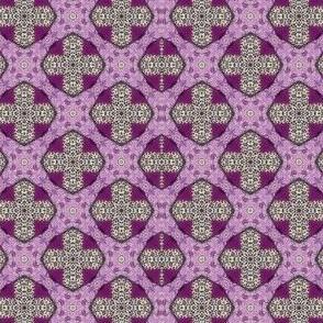 Purple Folk Art