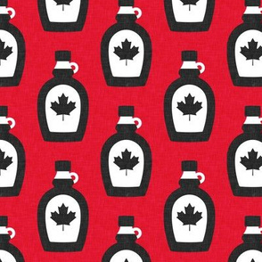 Maple Syrup - Syrup bottle - red - LAD19
