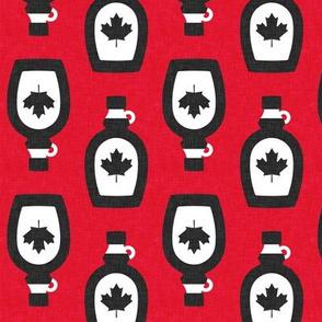 Maple Syrup - Syrup bottle - red v2 - LAD19