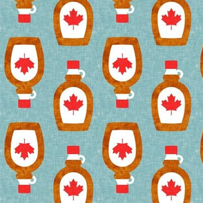 Maple Syrup - Syrup bottle - dusty blue - LAD19