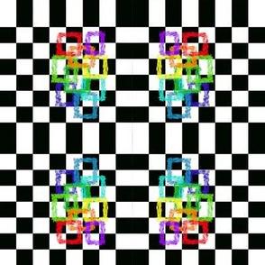 Checkered rainbow, M