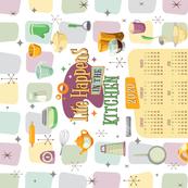 TeaTowel-2020 Calendar