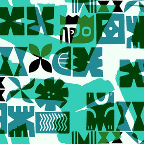 Tiki Color Block 2c