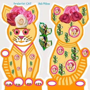 Feralartist Cat Doll