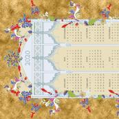 2020 Medieval Teatowel Calendar