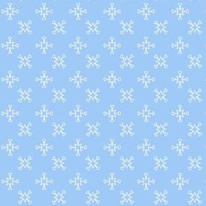 Cross light blue, M087