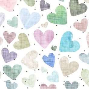 Linen Hearts