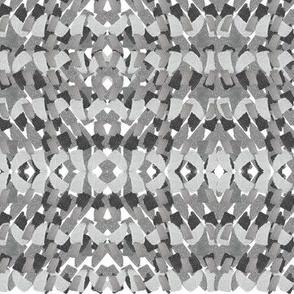 Tile mosaic grey