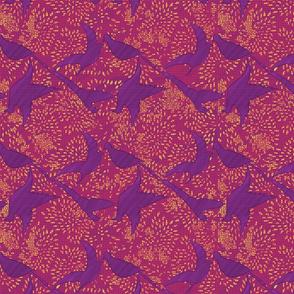 Purple Birds