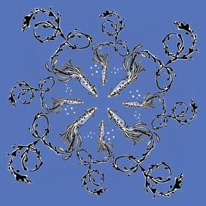 Squid Spiral - Reschasketch Blue