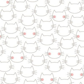 Blushing Kitties - Small