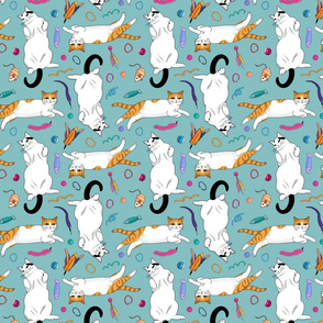 Scatter Cats - medium scale
