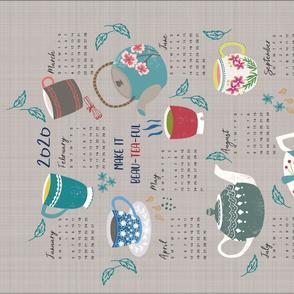 Beau Tea Ful Tea towel 2020