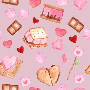 S'mores Love // Pink Flare