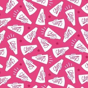 Cheerleading Megaphones Pink