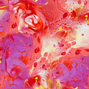 danzon no.2 fluid painting pattern