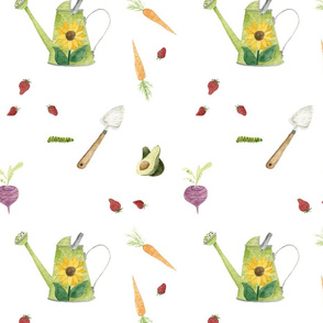 Exclusive Pattern Design for Peaks & Valleys Baby: Summer Garden
