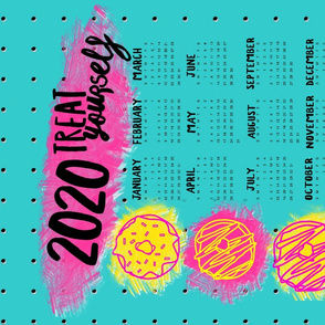 Treat Yourself Calendar 2020