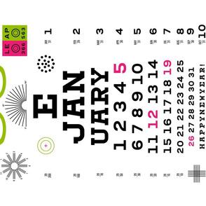 Look Before You Leap 2020 Calendar
