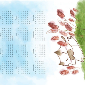 Kitty Calendar