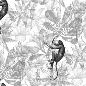 Flower Monkeys