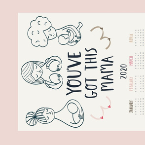 Tea towel - You've got this mama - Breastfeeding