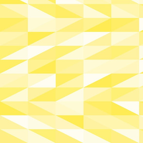 Messy yellow triangles texture