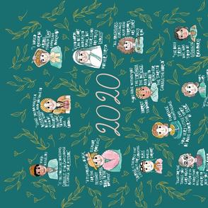 Women in History - 2020  Tea Towel Calendar
