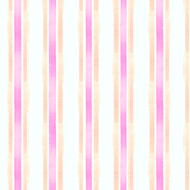 WC Stripe orange and pink