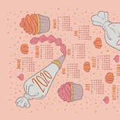 2020 Cupcake Calendar