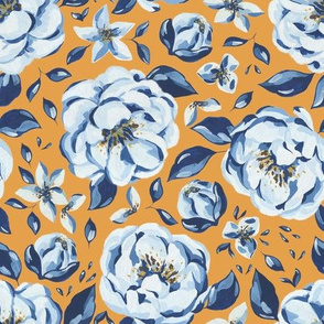 Blue Peonies / Arles Collection