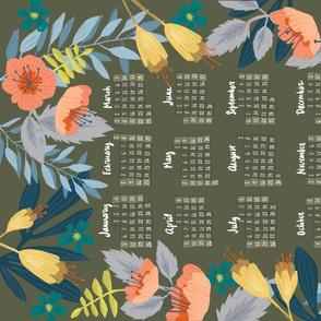 2020 Tea Towel Calendar