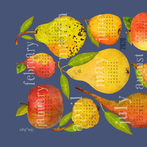2020 Holiday Apple and Pear Calendar