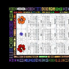 Hawaiian 2020 Calendar by kedoki