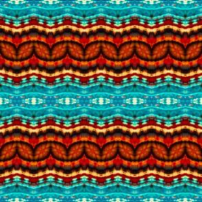 Copper Zigs & Blue Waves