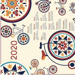2020_Calendar_tea_towel