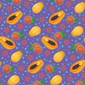 Rambutan & Papaya Party