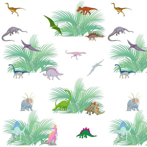 Kids,dinosaurs pattern decor