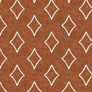 diamonds coordinate - woven ginger -  focus - LAD19