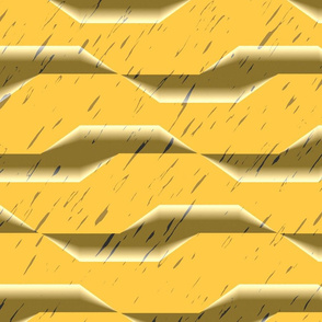 Dark rain (yellow)