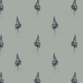 lupines 2 effen achtergrond