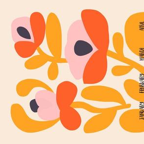 Garden - 2020 Calendar Tea Towel